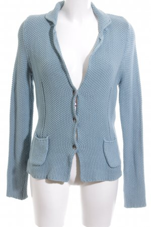 Blonde No. 8 Strick Cardigan blau Webmuster Casual-Look