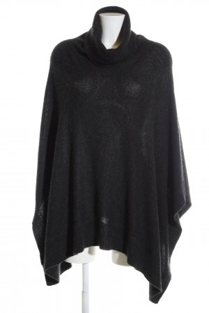 Blonde No. 8 Strickponcho schwarz Casual-Look