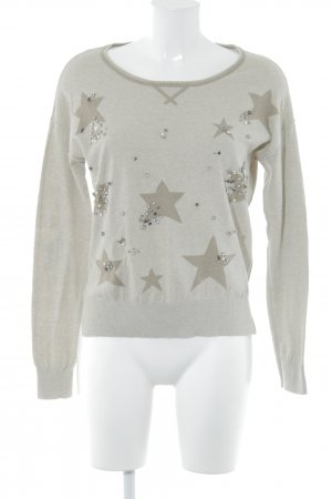 Blonde No. 8 Strickpullover camel Sternenmuster Casual-Look