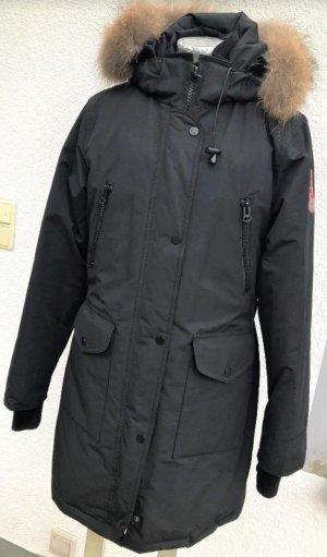 Blonde No. 8 Winterjas zwart