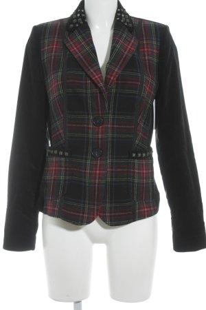 Blonde No. 8 Wool Blazer check pattern extravagant style