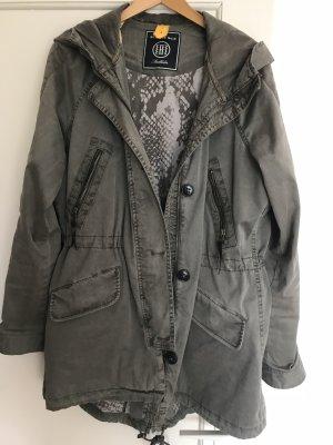 Blonde No. 8 Abrigo de entretiempo gris verdoso-caqui