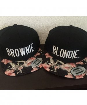 Blondie & Brownie Blumen Snapback