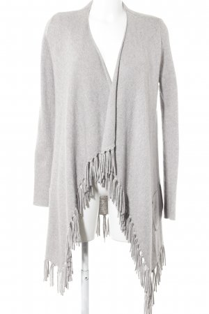 Bloom Cardigan hellgrau meliert Casual-Look