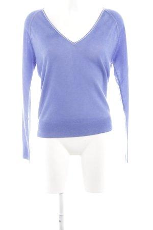 Bloom Cashmerepullover blau schlichter Stil