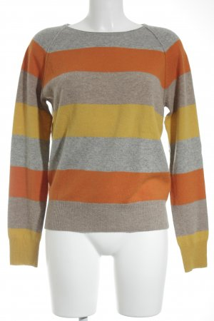 Bloom Cashmere Jumper striped pattern casual look