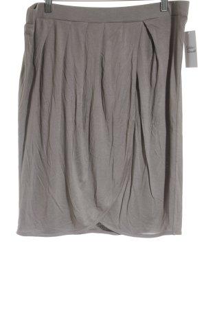 Bloom Plaid Skirt grey brown casual look