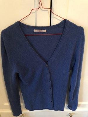 Bloom Pullover in cashmere blu fiordaliso