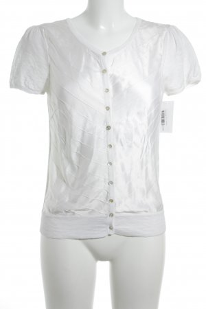 Bloom Short Sleeved Blouse natural white casual look