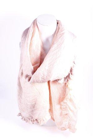 Bloom Seidentuch apricot-graulila Farbverlauf Casual-Look