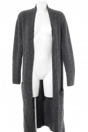Bloom Knitted Coat grey casual look