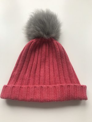 Bloom Fur Hat pink
