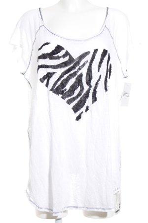 Bloom T-Shirt weiß schlichter Stil