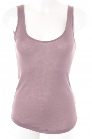Bloom Tank Top grey lilac casual look