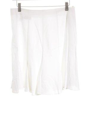 bloomis Jupe à plis blanc style classique