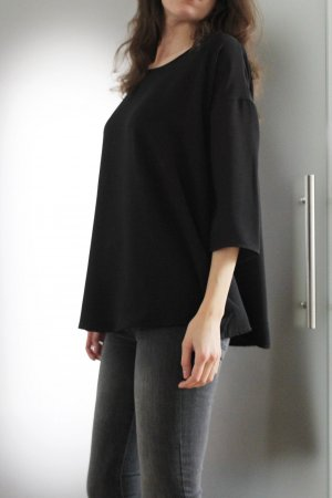 COS Blouse oversized noir polyester