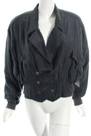 Blouson grau Vintage-Look