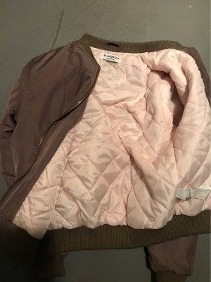 Glamorous Bomberjack oker-grijs-bruin Polyester