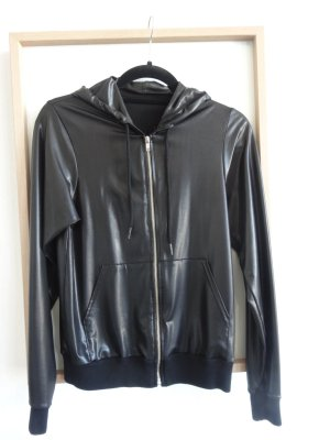 Blouson in Lack/Leder Optik