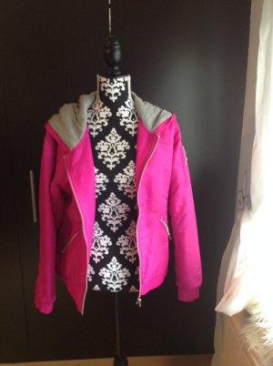 Blouson in NEON pink-