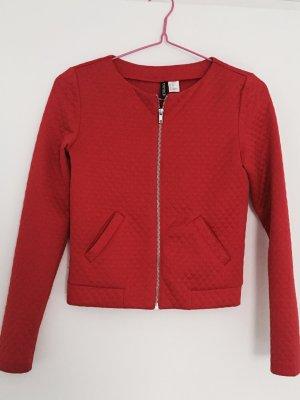 Blouson Jacke in Rot Größe XS