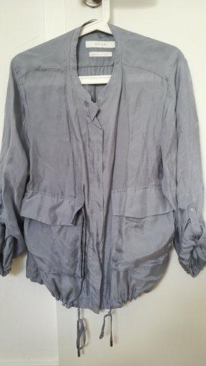 Blouson-Jacke vom Opus in Gr.M/38 in blau aus Seide