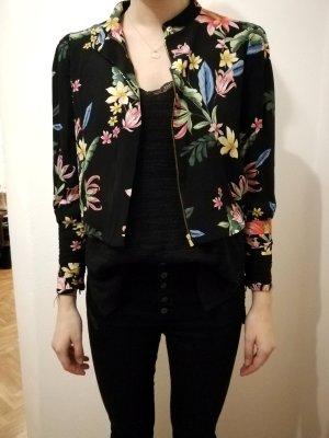 Blouson mit Blumenprint Zara *Größe M