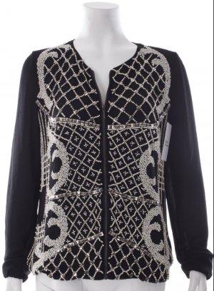 Blouson , schwarz weiß , extravaganter Stil