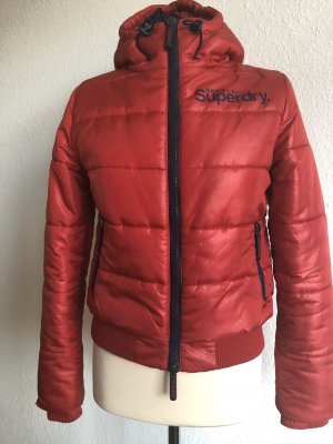 Superdry Down Jacket red