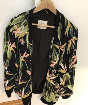 Zara Basic Bomber Jacket multicolored