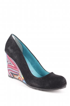Blowfish Keil-Pumps Aztekenmuster Boho-Look