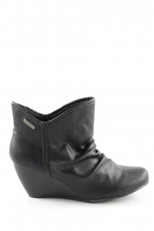 Blowfish Keil-Stiefeletten schwarz Casual-Look