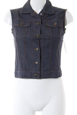 Blu Sand Jeansweste graublau Casual-Look