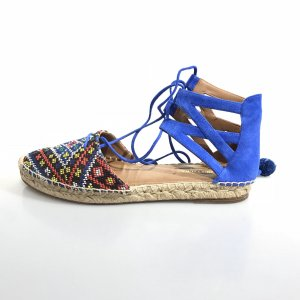 Aquazzura Espadrille Sandals blue