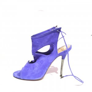Aquazzura High-Heeled Sandals blue