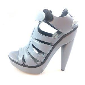 Balenciaga High-Heeled Sandals blue