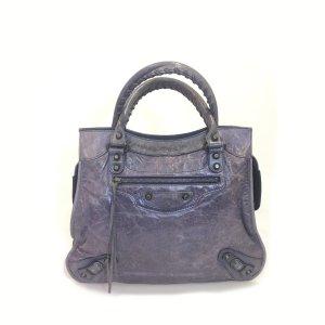 Blue Balenciaga Shoulder Bag