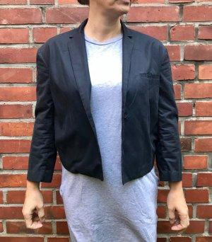 COS Short Blazer dark blue