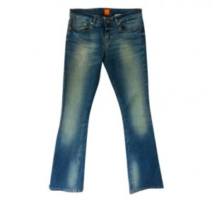 Boss Orange Stretch jeans korenblauw-azuur Gemengd weefsel