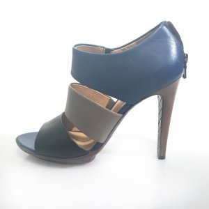 Blue Bottega Veneta High Heel