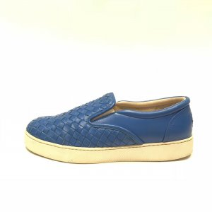 Blue Bottega Veneta Sneaker