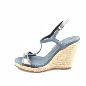 Blue Burberry Sandal
