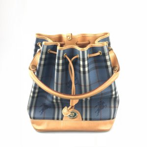 Blue Burberry Shoulder Bag