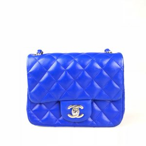 Blue Chanel Shoulder Bag