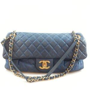 Blue Chanel Shoulder Bag