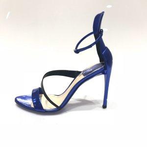 Christian Dior High-Heeled Sandals blue