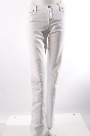 Blue Cult Bootcut Pant white