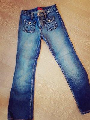 Blue Cult Jeans flare bleu