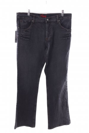 Blue Cult Straight-Leg Jeans schwarz Casual-Look