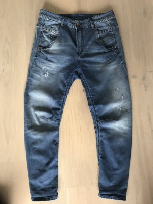 Blue Diesel Jeans Boyfriend Style
